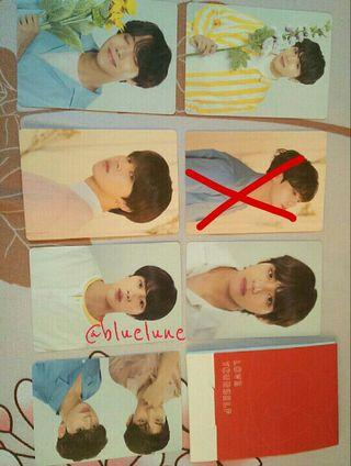[WTS] BTS Official Love Yourself Tour Mini Photocards