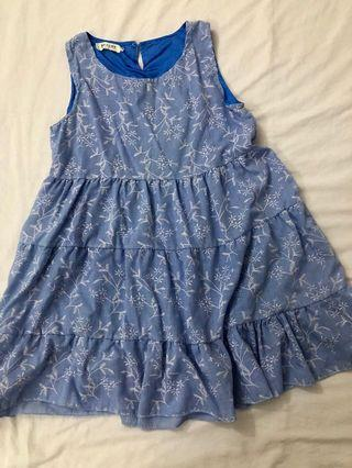 Floral babydoll dress/top