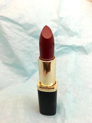 Loreal Colour Riche Matte Lipstick (Rich Merlot)