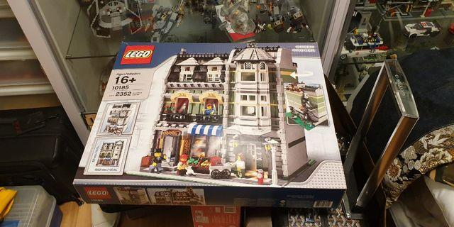 New Lego Green Grocer 10185 Rare