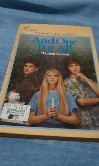 And One for All by Theresa Nelson