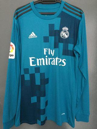 Real Madrid 2017/18 3rd Jersey Long Sleeve