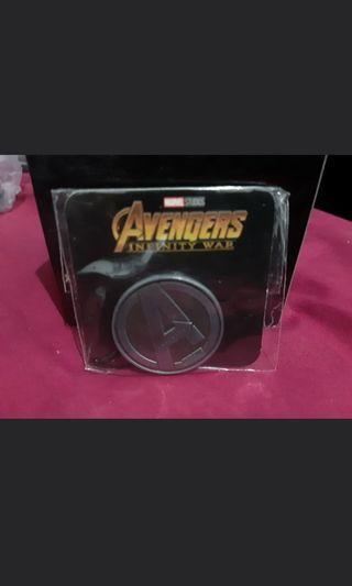 Avengers 2018 collectable coin