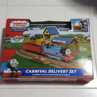 USED Thomas & Friends Trackmaster: Carnival Delivery Set with Extra Tracks