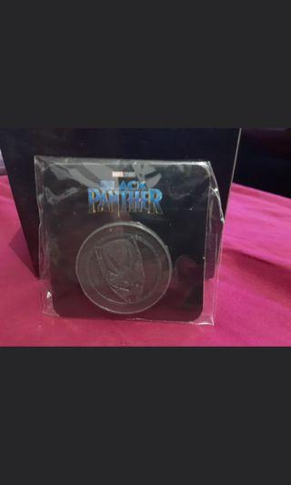 Black panther collectable coin