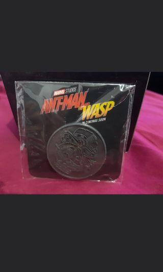 Ant-man and the wasp collectable coin