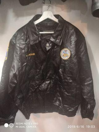 USA army surplus genuine leather flight jacket