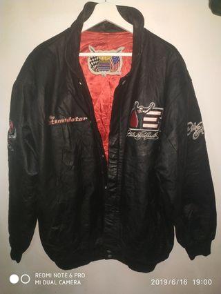 Hamilton bomber genuine leather jacket