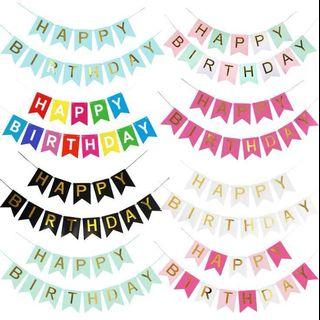 🌼SALES - 🌼Happy Birthday Banner🎂