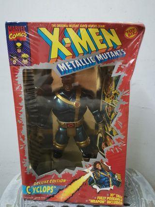 """🚚 X-Men Metallic Mutants Deluxe Edition 10"""" Cyclops"""