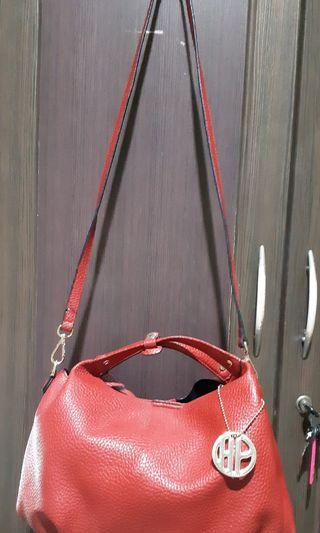 Bag Hush Puppies Red