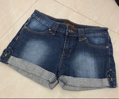 #bapau Denim Shorts
