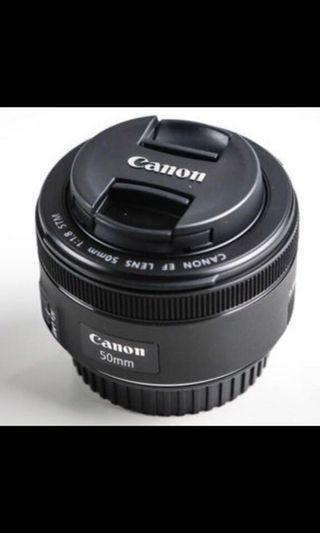 Canon EF50mm F1.8II