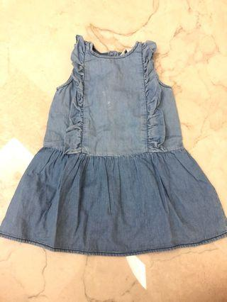 COUNTRY ROAD baby girl jeans dress