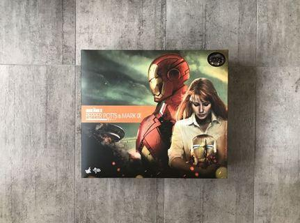 Hot Toys Mark 9 with Pepper Potts Special Edition With Freebee