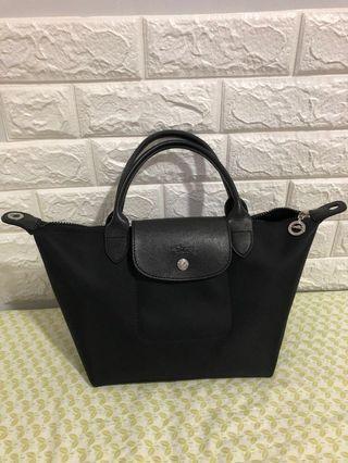 Longchamp neo black small