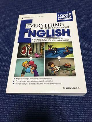 🚚 Eph everything you need to know about English. Lower primary
