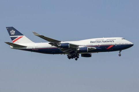 GeminiJets 1:400 British Airways B747-436 G-BNLY 'Landor Retro'