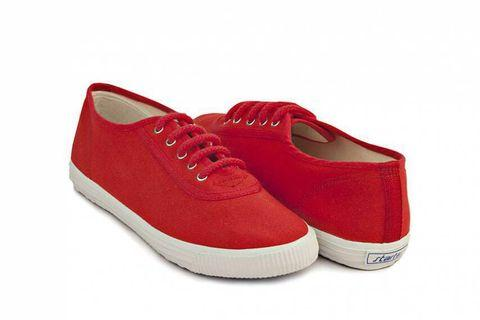 Startas basic red canvas sneakers shoes