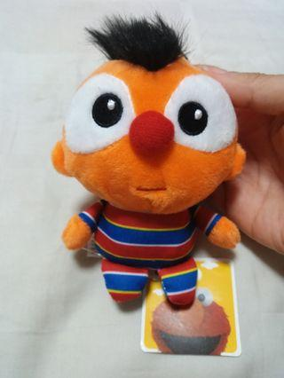 New w Tag Ernie Sesame Street Plush
