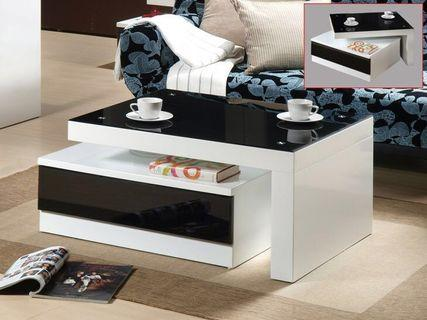 Black & White Coffee Table