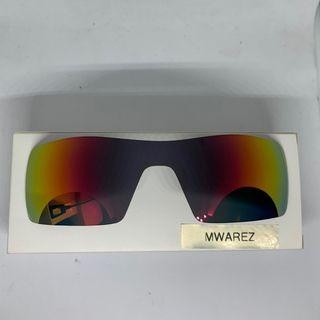 Oil Rig Fire Red DYM Replacement Lenses for Oakley Oil Rig Sunglasses