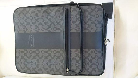 Coach leather cabin luggage 行李喼
