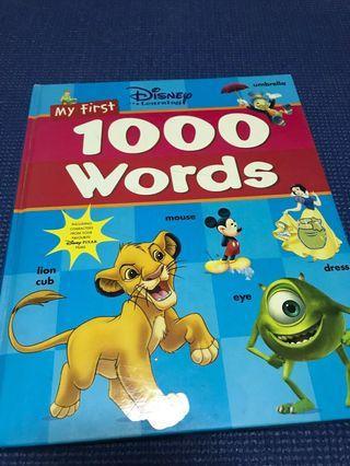 🚚 Disney my first 1000 words
