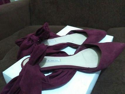 Cnk shoes maroon