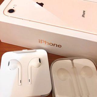 附耳機盒👍 Earpods 有線耳機 - iphone7以上手機適用