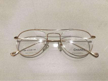 Kacamata Minus Gold - Fashion Eyeglasses