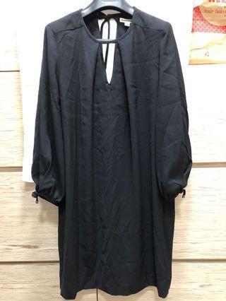 Whistles black dress