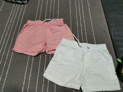 🚚 Shorts from kids cotton on
