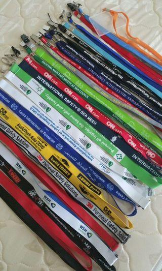 Lanyards, stationery, card holders