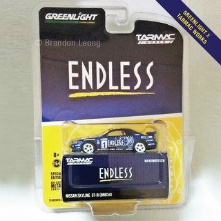 Greenlight Tarmac Works Exclusive - Endless Nissan Skyline GT-R (BNR34)