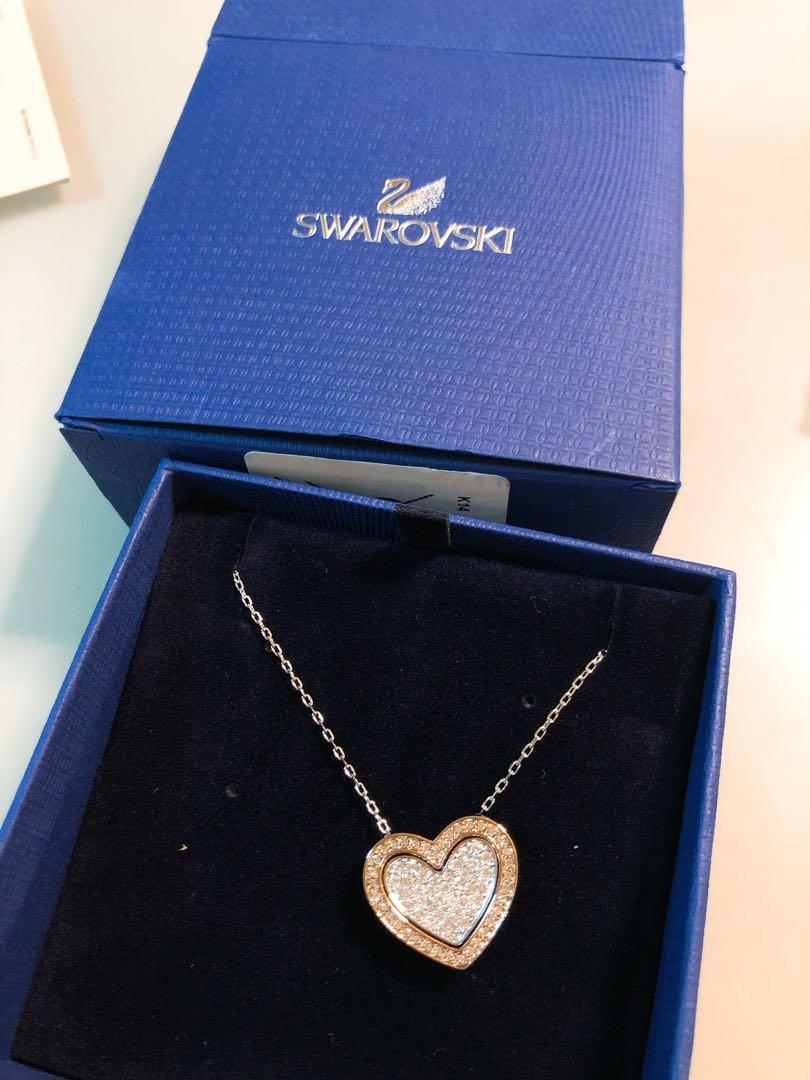 【全新 100% New 包順豐】Swarovski 心形頸鍊 Necklace