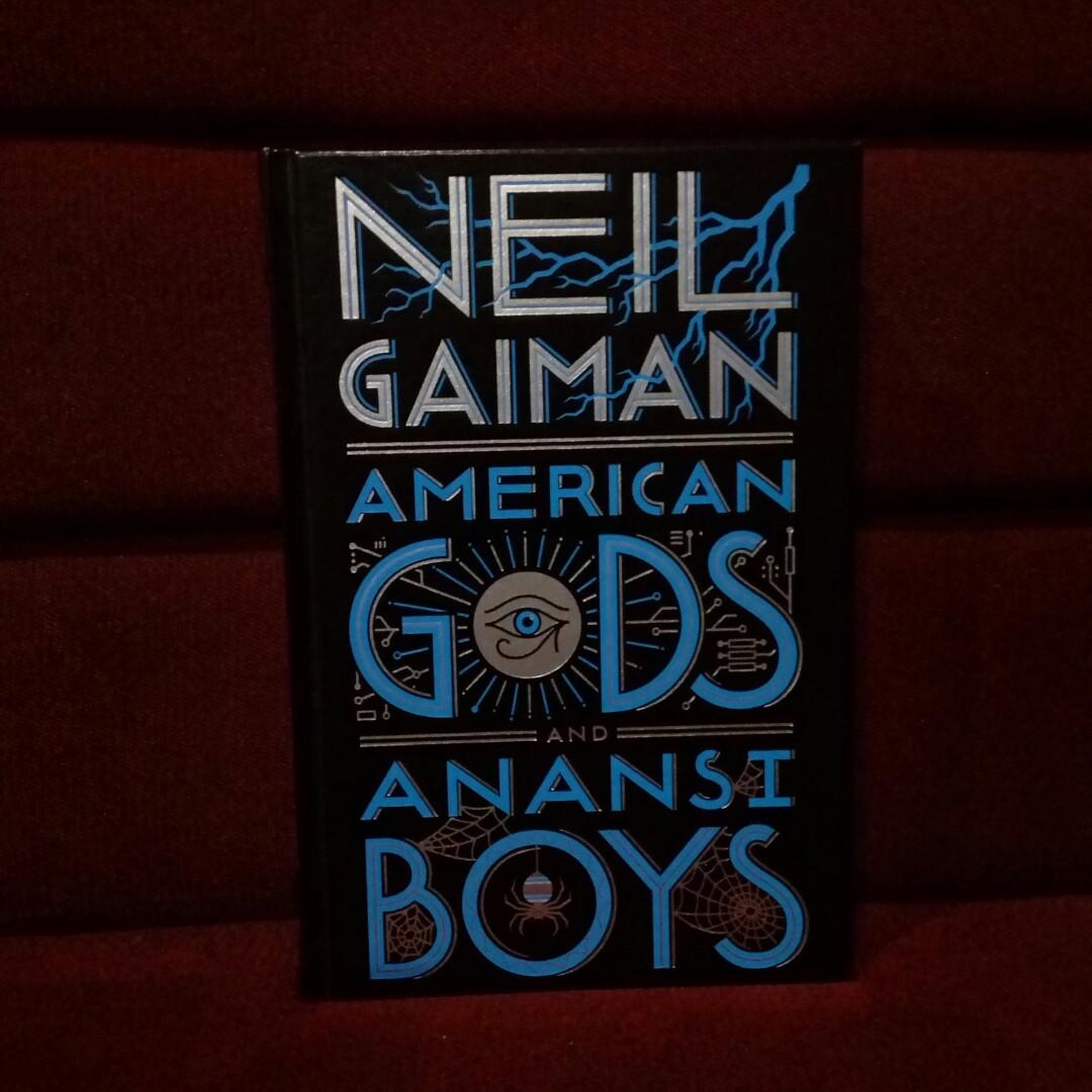 American Gods and Anansi Boys by Neil Gaiman (Barnes and Nobles leather bound collectible)