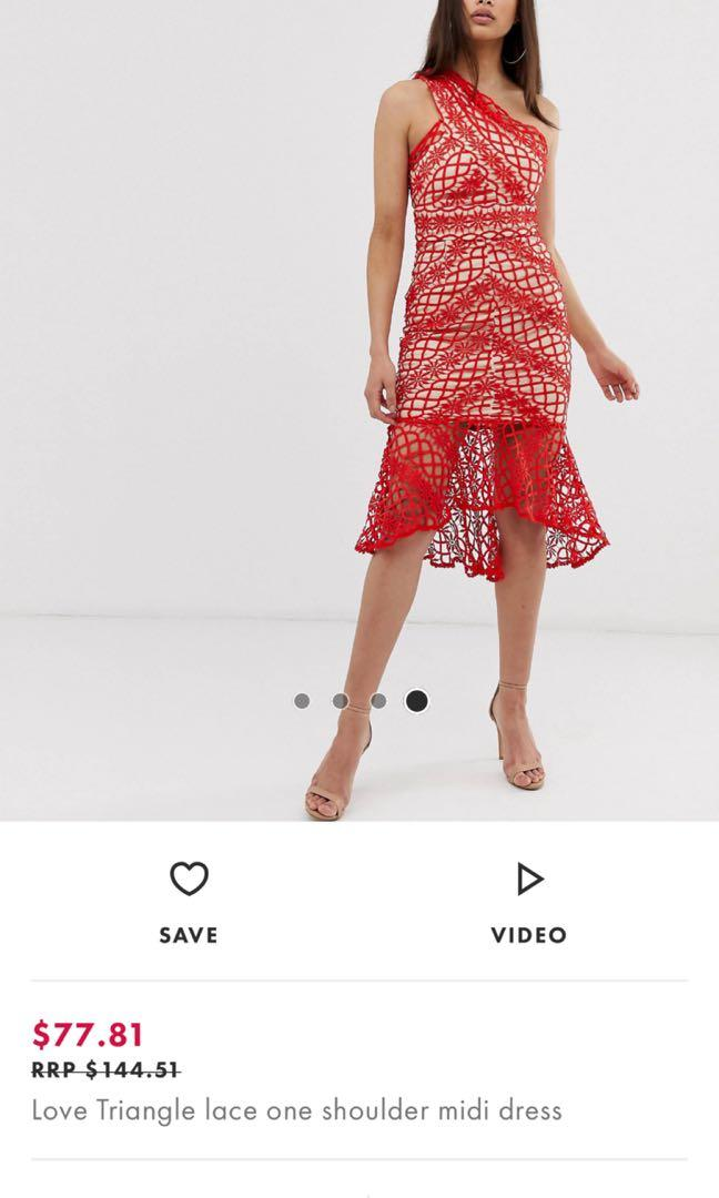 (REDUCED!) Asos Love Triangle Toga Dress
