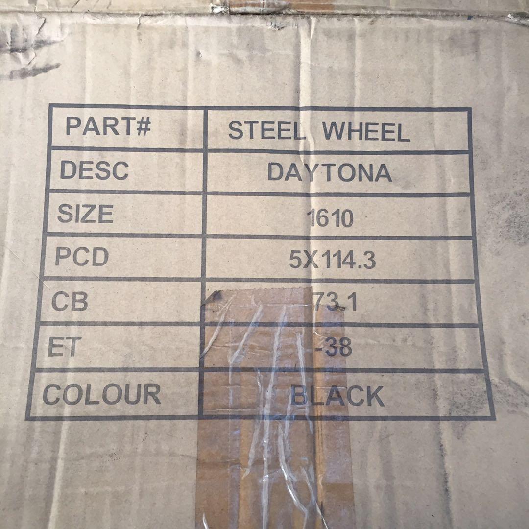 Atara Racing Daytona Steelies rim