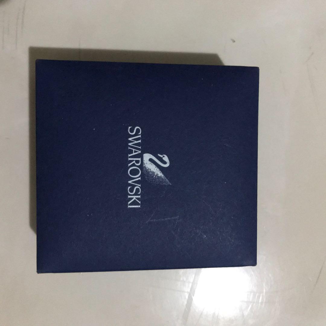 authentic swarovski box with tag