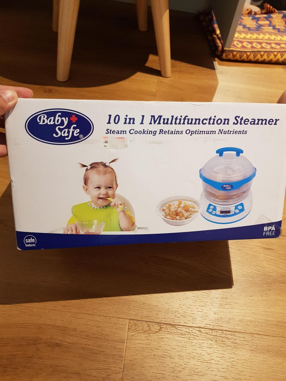 Babysafe 10 in 1 multifunction sterilizer steamer