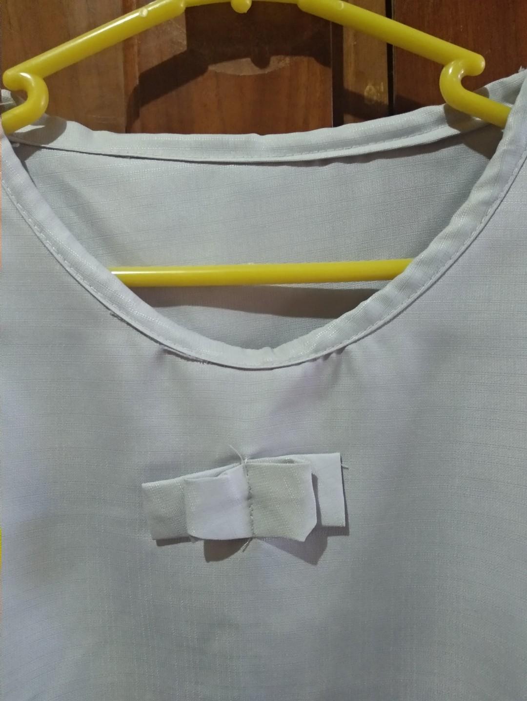 Baju atasan abu-abu polos murah preloved