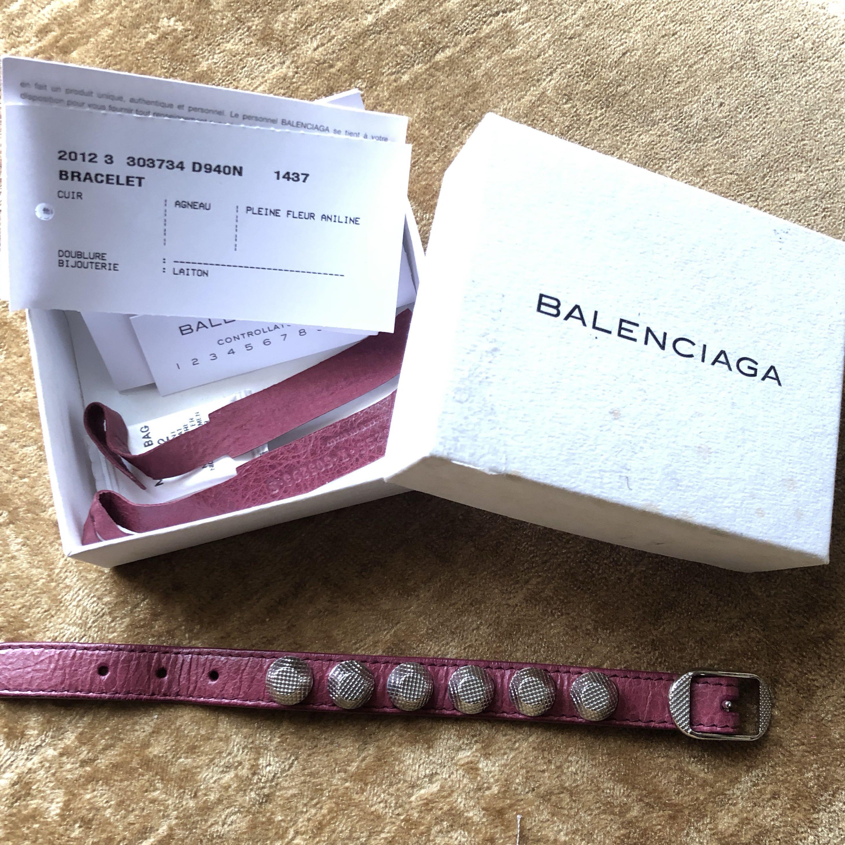 Balenciaga Bracelet AUTHENTIC in Purple