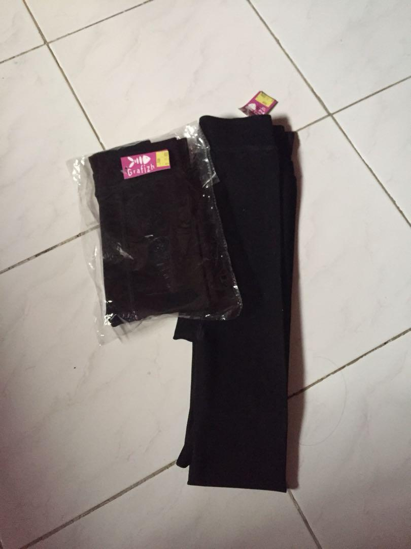 Black Legging - Celana Legging Hitam