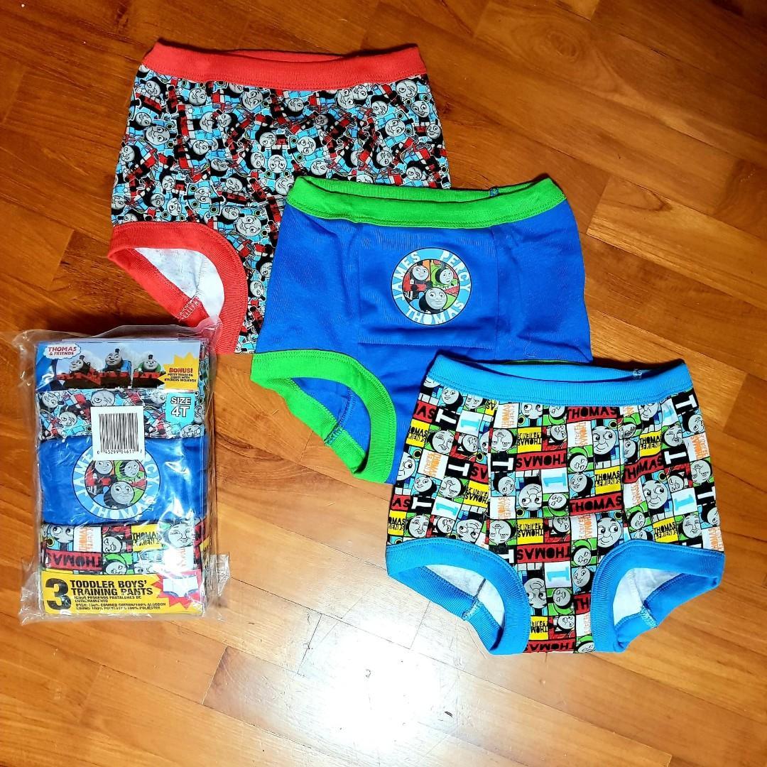 Thomas the Train boys brief underwear 3 pack size 4T