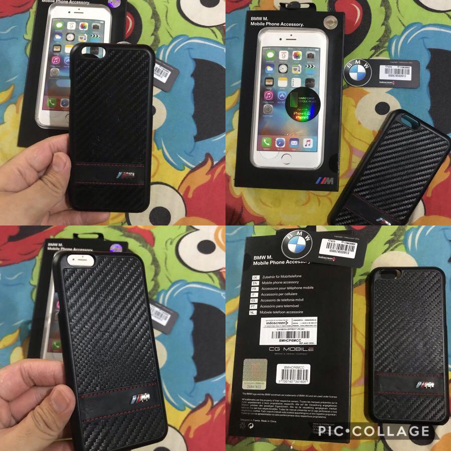 Case Original Apple Iphone BMW leather Indoscreen 6/6s