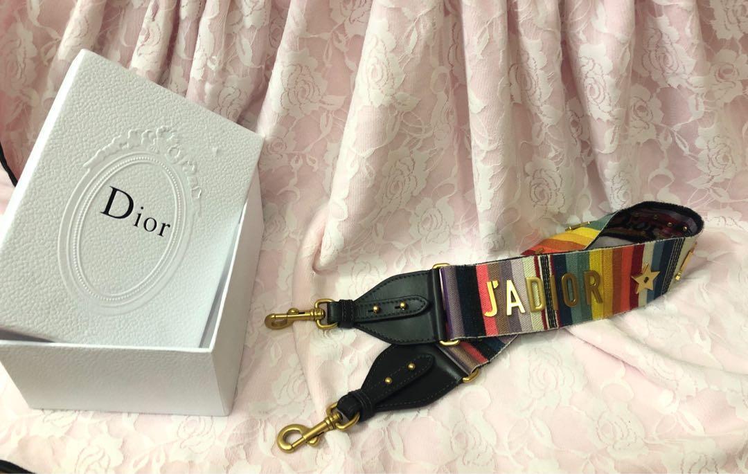 Christian dior jadior bag strap vip handmade original leather dior saddle strap bag