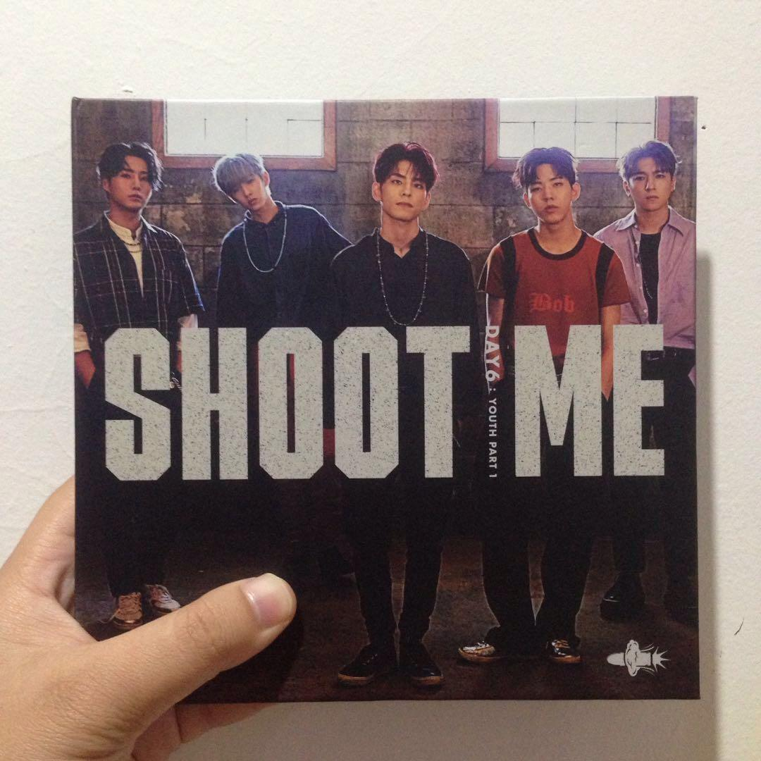 DAY6 3rd Mini Album SHOOT ME