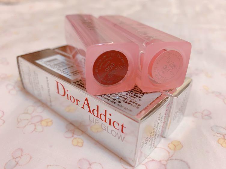 Dior 迪奧癮誘粉漾潤唇膏 001淡粉色