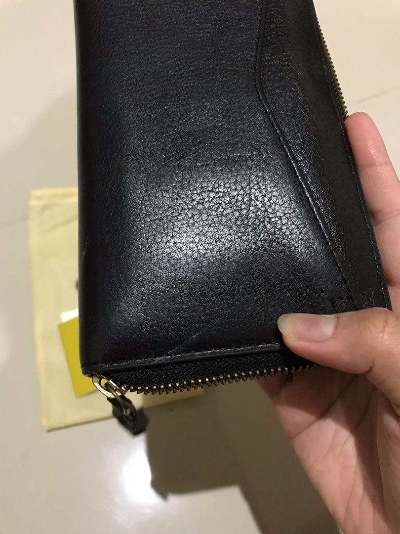 Dompet Fossil Hitam Fossil Wallet Black